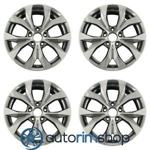 New 17 Replacement Wheels Rims For Honda Civic 2012 2013 2014 Set Machined W