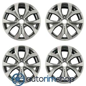 New 17 Replacement Wheels Rims For Honda Civic 2012 2013 2014 Set Machined With