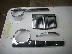 1946 1947 1948 Ford Car Dash Chrome Trim Parts