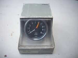 Nos Vintage Vdo Tachometer 333 301 Hot Rod Rat Muscle Car 1932 Corvette Porsche