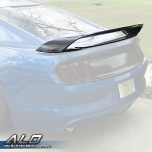 For 2015 2019 Ford Mustang Gt350 gt350r Style Rear Trunk Wing Spoiler Primered