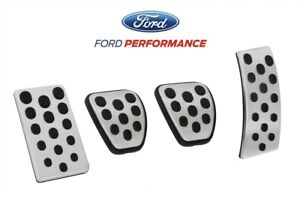 1994 2004 Mustang Oem Genuine Ford Aluminum Manual Clutch Brake Gas Dead Pedals