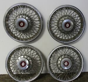 Oem Gm 13 Wire Type Hub Caps Wheel Covers 22515662 22529673 1982 86 Olds W17