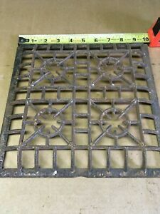 Heat Grate Wall Register Curved Edge Lock Well Brand 1906 10 X 10 Grate Only