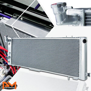 3 Row Full Aluminum Cooling Radiator For 91 01 Jeep Cherokee Comanche 2 5 2 6l