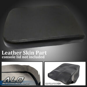 Leather Armrest Center Console Lid Cover Fits For Dodge Ram 2002 2008