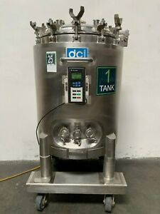 Dci Stainless Steel 200 Liter Jacketed Reactor 30 80 Psi
