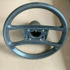 Genuine Vintage Porsche 944 Black Leather 4 Spoke Steering Wheel 477419091g