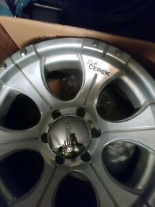 Dick Cepek Rims Set Of 4 In New Condition With Boxes 17x9 6 Lug 6x5 5 Lug