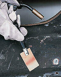 Eastwood Welders Helper Flat Copper Plate Spoon For Small Holes Repair Rips