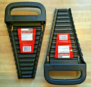 Lot Of 2 Craftsman 65272 Wrench Organizers Made In Usa Free Shipping