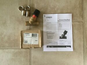 Wirsbo Uponor 3 4 Pressure Differential By pass Valve