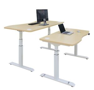 Chd Electric Height Adjustable Desk 54 Frame With Table Top Dual Motor
