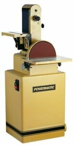 Powermatic 1791291K 31A 6 x 48 in. Belt Disc Sander 1-12HP 1Ph 115230V