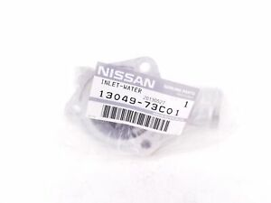 Nissan 13049 73c01 Thermostat Housing Outlet Genuine Oem New