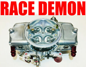 Race Demon 825 Cfm Gas Oval Track Barry Grant 2423010ot With 8 Fittings
