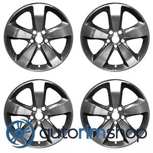 New 20 Replacement Wheels Rims For Jeep Grand Cherokee 2014 2016 Set Machined W