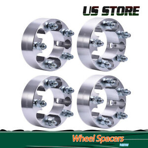 4pcs 2 Wheel Spacers 5x4 5 For Jeep Wrangler Liberty Grand Cherokee Comanche
