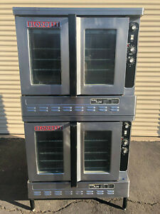 Blodgett Dfg 100 Dual Flow Double Stack Convection Oven In Natural Gas