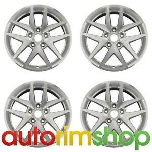 New 17 Replacement Wheels Rims For Ford Fusion 2010 2011 2012 Set Silver
