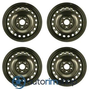 New 16 Replacement Wheels Rims For Ford Focus 2012 2013 2014 Set Black 3876