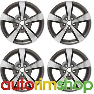 New 17 Replacement Wheels Rims For Chevrolet Malibu 2008 2012 Set Polished With