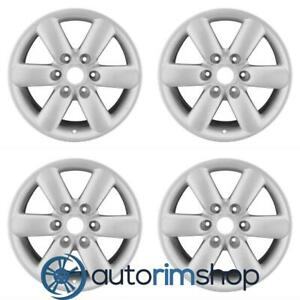 New 18 Replacement Wheels Rims For Nissan Titan Armada 2008 2015 Set Silver