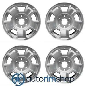 New 17 Replacement Wheels Rims For Chevrolet Suburban Tahoe 2007 2014 Set