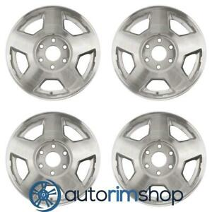 New 17 Replacement Wheels Rims For Chevrolet Suburban Tahoe 2004 2007 Set Machi