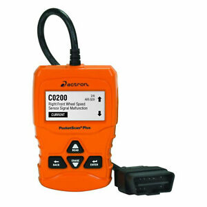 Actron Cp9660 Pocketscan Plus Abs Obdii And Can Diagnostic Code Reader Orange
