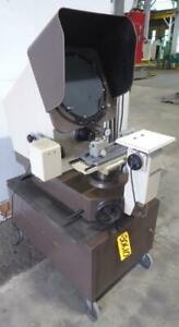 14 Mitutoyo Optical Comparator Model Ph 350 Bench Model W stand Nice 30610