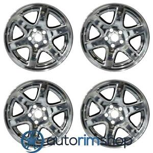 New 17 Replacement Wheels Rims For Jeep Liberty 2003 2004 Set Chrome Clad
