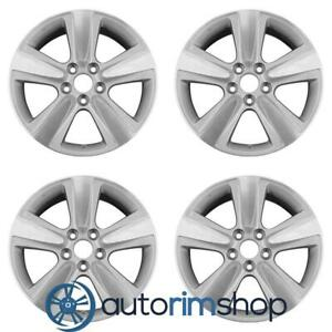 New 18 Replacement Wheels Rims For Acura Mdx 2010 2013 Set Machined With Silver
