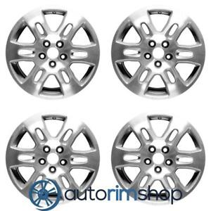 New 18 Replacement Wheels Rims For Acura Mdx 2007 2008 2009 Set Machined Wit