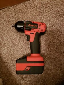 Snap On 18v 3 8 Cordless Impact Wrench read Description
