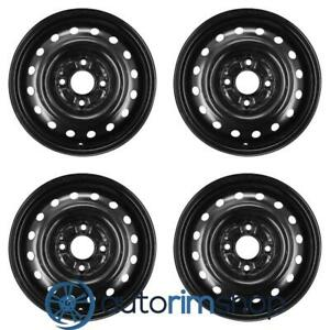 New 15 Replacement Wheels Rims For Honda Accord 1990 1997 Set Black 42700sv1j01