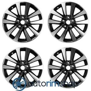 New 17 Replacement Wheels Rims For Nissan Altima 2016 2019 Set Machined With Ch
