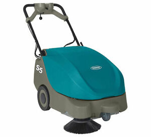Tennant S5 Compact Battery powered Walk behind Sweeper