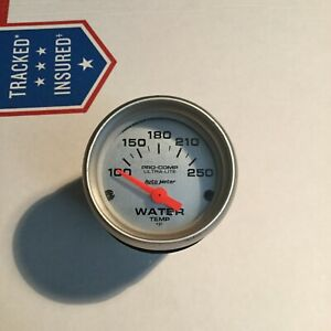4337 Autometer 4337 Ultra Lite Electric Water Temperature Gauge