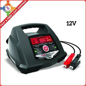 Fully Automatic 12v Battery Charger 100a Engine Starter With Diagnostic Testing