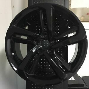 19 Hfp Style 2018 Accord Sport Gloss Black Wheels Rims Fits Honda Civic Si
