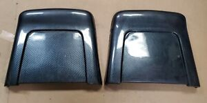 1967 1968 Gm Bucket Seat Backs Carbon Fiber Chevelle Gto Nova