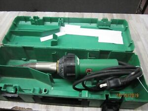 Leister Triac S Hot Air Blower Heat Gun Voltage 120v 1600w 14a