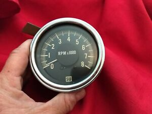 Vintage Stewart Warner 997r Tachometer For Hot Rod Rat Rod Pre Owned