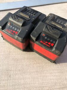 Snap On Ctb7185 Lot 2 For Battery Repair Not Work For Parts