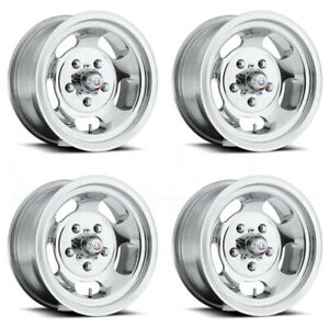 15x10 Us Mags Indy U101 5x5 5 5x139 7 50 Polished Wheels Rims Set 4