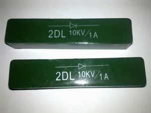 High Voltage Diode 2dl10kv 1a Rectifier Silicon Stack 18 25 120mm