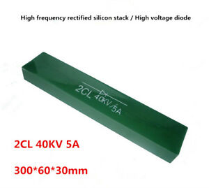 1pcs High Voltage Diode High Frequency Rectification Silicon Stack 2cl 40kv 5a