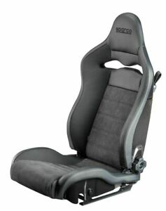 Sparco Seat Spx Leather Alcantara Black Left