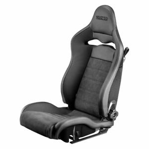 Sparco Seat Spx Leather Alcantara Black Right